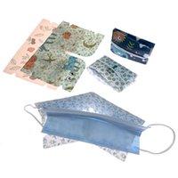 6 Pcs / Lot Masques Portable Conteneur Anti-poussière Masque Masque cas Safe sans pollution à usage unique de stockage Boîte de rangement Organisateur