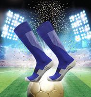 Enfants Femmes Hommes Football épaississement chaussettes football serviette sport bas Rugby Bas genou haute Volley-ball longues chaussettes cyclisme