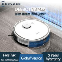 ECOVACS Deebot N3 Max Laser Robot Aspirateur avec Mop Accueil Nettoyage Balayer Machine Support Alexa Google App Voice Control