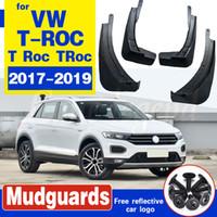 Volkswagen VW T-ROC T Roc Troc 2017 2018 2019 Araba Çamurluk Çamur Flap Klapeleri Sıçrama Muhafızları Fender Paçalıklar Araç Aksesuarları İçin Set