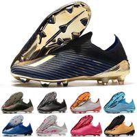 2021 Hots Scarpe Calcio X 19+ FG Mens Низкая лодыжка Футбольная обувь Перенаправить пакет Женщины Детские ботинки дешево Оригинальные Футбольные Шлеаты 3.5-11