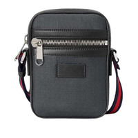 bolsa de mensajero negro bolsos de las mujeres ICÓNICOS BOLSAS BOLSAS DE MANIJAS Top hombros TOTES CRUZ cuerpo de la bolsa 598103