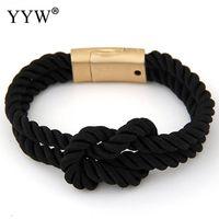 Полимерная глина бусины браслет закрутки Rope браслеты Плетеные Rope браслеты браслеты для женщин Изготовление ювелирных изделий