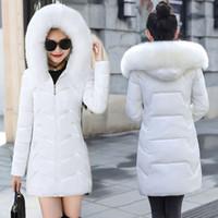Mode Winterjacke Frauen Plus Größe 6XL Big Pelz Mit Kapuze Dicke Parkas Weibliche Jacke Mantel Slim Warme Winter Outwear 2020 NEU