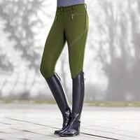 Pantaloni Pantaloni equitazione Pantaloni Leggings per le donne fitness Slim matita equestre Horse Rider Magro pantaloni Lady Plus Size CX200812