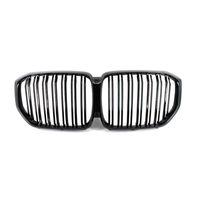 Grille de course de voiture en fibre de carbone pour BMW X6 G06 / X5 G05 ABS Pays-Bouche de rechange noir brillant