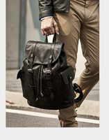 MEN BAG Hight quality MEN leather CHRISTOPHER PM BACKPACK Re...
