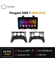Property Octa 8 Core Android 10.0 Reproductor de DVD Headunit Audio Navi para 3008 1 2009 - 2020 4g DSP Optical 360 Radio Car