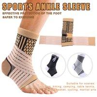 Aide à la cheville Bande de bandage à compression élastique élevée pour la protection de la sécurité du football de basket-ball de sport