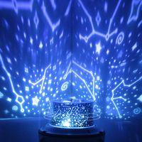 Вращающиеся ракеты LED проектор красочные ночь лампы пространство звездное небо сна светодиодный проектор светодиодный проектор настольной лампы Ночники topmeed