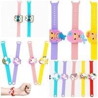 Sample Style Horloges Draagbare Polsbandjes Vloeibare Zeep Armband Womens Mens Hand Sanitizer Panda Owl Prinses Toekan 6 5xha F2