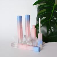 3.5 ml Mini Pembe Mor Lipgloss Şişe Boş Dudak Parlatıcısı Tüpler DIY Kozmetik Ambalaj Kişisel Bakım