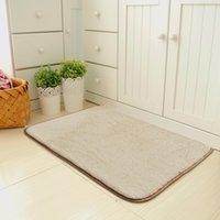 Memory Foam Alfombra de baño de 24 x 16 pulgadas (60x40cm), suave y cómodo, Máximo absorbente, antideslizante, gruesas, lavadora, más fácil **