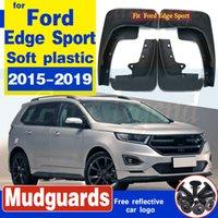4Pcs Auto hinten vorne Schmutzfänger Kotflügel Kotflügelverbreiterungen Spritzschutz für Ford Edge Sport 2015 2016 2017 2018 2019