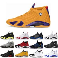 14 14s Basketball Chaussures pour hommes Gym en rouge Hyper Loyel Varsity Roya dernier tir Doernbecher Université Gold Fusion Formateurs Sneakers Taille 7-13
