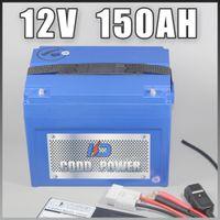 batería de iones de 12V 150Ah almacenamiento de litio lámpara LED Solar 1000W 12v RC con ABS Case