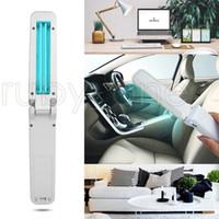 USB Складная UVC Дезинфекция лампы Портативный UV стерилизатор ультрафиолетовый свет озоно- Бактерицидные свет батареи питания для Home Hotel Clean RA3512