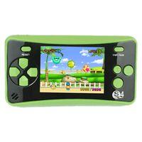 وحدة التحكم لعبة جديدة المحمولة المحمولة للأطفال، لعبة ممر لعبة نظام لوحات المفاتيح فيديو لاعب العظمى هدية عيد ميلاد الأخضر