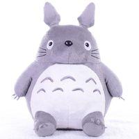 トトロぬいぐるみソフトぬいぐるみアニメアニメ漫画の枕クッションかわいい太い猫チンチラス子供誕生日クリスマスギフトMX200716