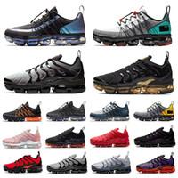 حذاء رياضي vapormax Utility vapormax plus tn Tropical Twist Utility للرجال نيون ثلاثي أحمر أسود رمادي نغمات أحذية رياضية للرجال والنساء