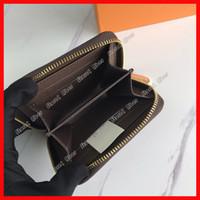 Отлично Zippy монет кошелек женские роскоши дизайнеры сумки кошельки кредитные карты держатель кошельки Pochette мужчины кошелек молния компактная монета