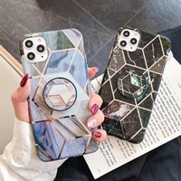 New Marble Holder phone case for iphone 11 pro max IMD Silic...