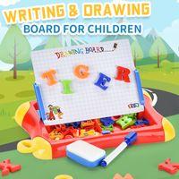 Silinebilir Manyetik Çizim Kurulu Doodle Hediyeler Çizim Şövale Renkli Kurulu Çocuklar için Yürüyor Yazı Yazma Pad Souptoys Oyuncaklar WTWKD