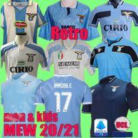 2000 1998 1991 1992 قميص لاتسيو ريترو MANCINI 2020 2021 ال120 لاتسيو لكرة القدم جيرسي كيت 20 21 متحرك LUIS BASTOS ALBERTO SERGEJ كرة القدم