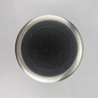 50 mm 51.5mm Pegatina de goma negra Etiqueta engomada de acero inoxidable Protector protector BottleBottle Funda protectora de la taza Posavasos de goma