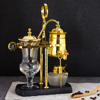Koffiezetapparaten Royal Belgium Machine Siphonic Distillation Pot Make Pak Dript Type Handmatige Ciphon 4-6 Cups