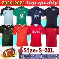 2020 Rugby Galler Kırmızı Yeşil Formalar 19 20 Dünya Kupası İskoçya İrlanda Erkekler Rugby Gömlek 2021 En Kaliteli Rugby Gömlek Boyutu: S-3XL