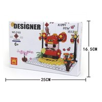 New And Building Greeting Card Puzzle Creative Small Blocks Particles Girls Series For Plastic Interesting Toys Assembled Boys And Bloc Vvko