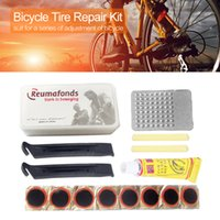 Cycling Motor Bicycle Patch Kit MTB Bike Puncture Maintenance Tyre Patches Rubber Repairing Tools Emergency Tires Fix Kits