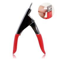 Professional Nail Art Clipper cortador Gel UV Falso Nail Tips Borda cortadores de aço inoxidável Clippers Manicure Too