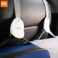 Xiaomi سيارة الخلفية المقعد شنق المنتجات الداخلية السيارات السنانير لتعليق سيارة شماعات حقيبة منظم هوك مقعد السيارة التبعي