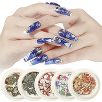 1 Box Creative and Stylish Christmas Nail Decoration Appliqu...