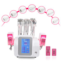 Nouvelle cavitation RF amincissant la beauté Dispositif 9 en 1 liposuccion à ultrasons laser lipolyse machine de cellulite