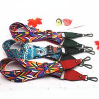 Obag Diy Beutel-Bügel für Frauen-Schulter-Beutel-Aufhänger Farbige Bel-Bügel-Zubehör Verstellbare Regenbogen-Hand Straps Dekorative