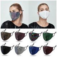 Moda net kırmızı Payet maskesi Toz geçirmez Nefes Ağız Ayarlanabilir Windproof maske ve prova Yüz Maskeleri Tasarımcı maskeler T9I00490 sis