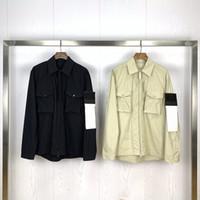 Yeni Geliş Erkek Stilist Katı Renk Ceket Uzun Kollu Yeni Trençkot Erkek Stilist Cep Dekorasyon İnce Ceket Coat Boyut M-2