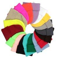 25 colores Classic Mens Ladies Womens Slouch Beanie tejido de punto Sangre Skull Hat Caps Amantes Kintted Cap Solid Beanie Caps EEA1955