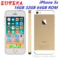 "iPhone sbloccato di Apple iPhone 5s 5s 16GB 32GB 64GB ROM 8MP iOS Phone IPS 8MP WIFI GPS SIRI 4G LTE Mobile 4.0"""