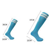 Kinder Sport Fußball-Fußball-lange Socken über Knie-hohe Socke für Jungen und Mädchen Baseball Hockey Socken Kinder