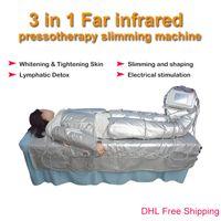 Alta qualità 3 in 1 pressoterapia infrarossi + corpo dimagrante SME dispositivo di bellezza sauna a raggi infrarossi macchina drenaggio linfatico