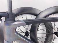 دراجة إطار الكربون الطريق ساجان مجموعة مرآة LTD لون إطارات الهواء المقود + الجذعية + + شوكة seatpost + سماعة + المشبك
