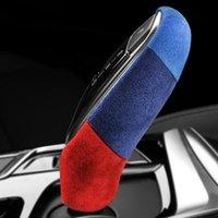 Alcantara gainé de cuir voiture POMMEAU ABS Couvercle Décoration pour BMW G30 G38 G32 G01 G02 G08 G11 G12 X3 X4 6GT 5 Série 7