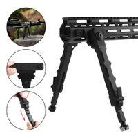 airsoft M4 ar 15 accessori in alluminio tattico Separato V9 Bipod adatta ferroviario sistema M-Lok per le riprese di caccia nera