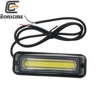Eonstime 1pcs 12V-24V COB LED-Verkehr Advisor Notfall-Flash Strobe Light Bar Warnlicht Rot Blau Gelb Weiß
