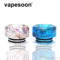 Authentic Vapesoon 810 Drip Tips Resin Tip Short Epoxy Mouthpiece Wire Bore Suck for TFV12 Prince TFV8 X Big Baby