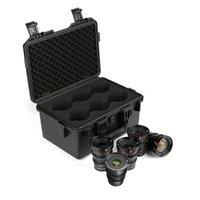 Andere CCTV-camera's Meike T2.2 Cine Lens Kit (5 MFT-lenzen 12mm 16mm 25mm 35mm 50mm) met een kofferbak